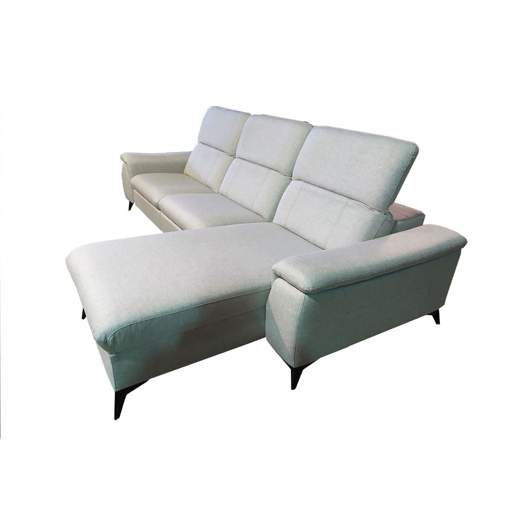 Sofá Yaiza Chaise Longue (2 módulos XL)